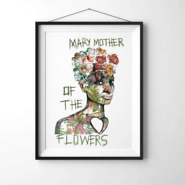 Mary the Mother of Flowers