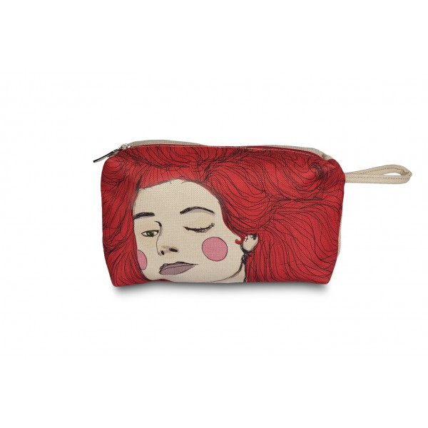 Be Red Make up Bag