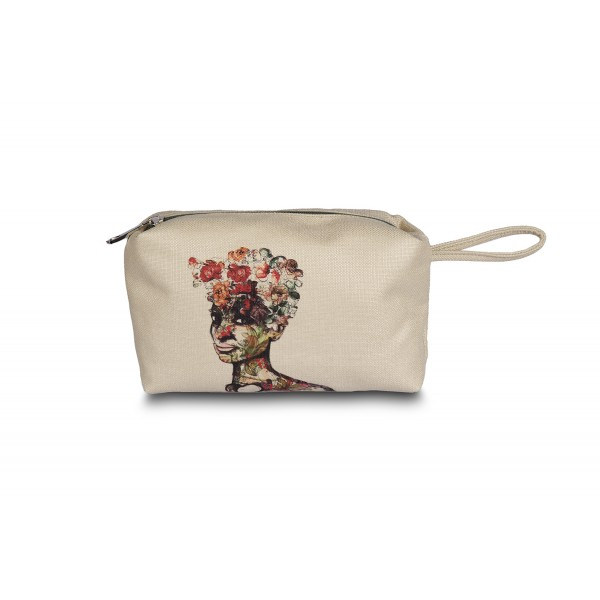 Mary the Mother of Flowers Make up Bag