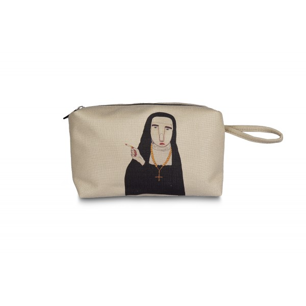 Naughty Nun Make up Bag